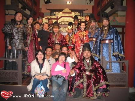 IRONI Fun.com ::. عکس های جالب از پست صحنه افسانه جومونگ