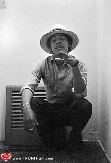 IRONI Fun.com ::. عکس های لو رفته از دوران جوانی اوباما